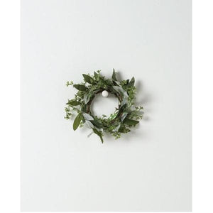 Faux Olive & Foliage Wreath - Small