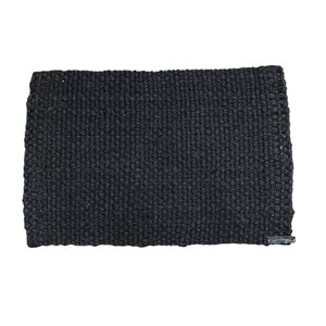 Jute Doormat - Black - CRAVE WARES