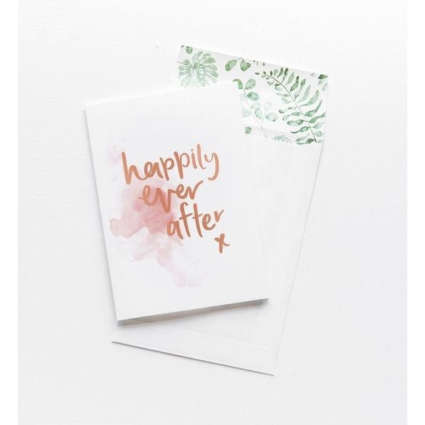 Greeting Card - Happily Ever After