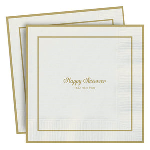 Passover Disposable Lunch Napkin - Happy Passover
