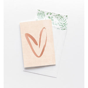 Greeting Card - Heart