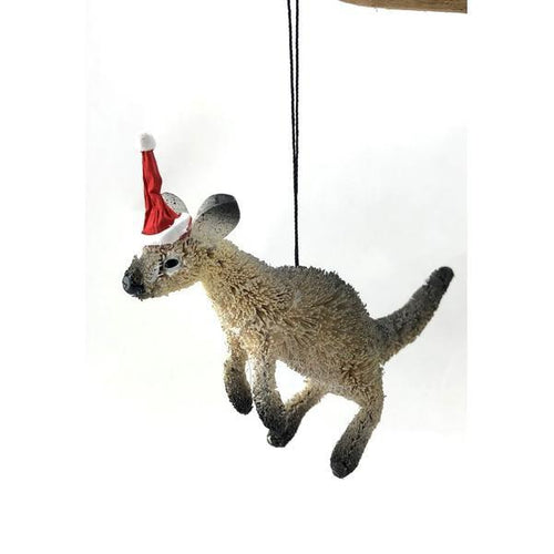 Kangaroo Grey - Christmas Decoration