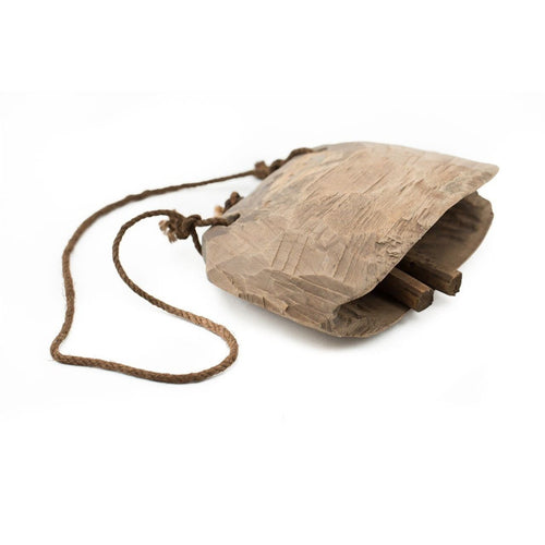 Large - Wooden Cow Bell - CRAVE WARES