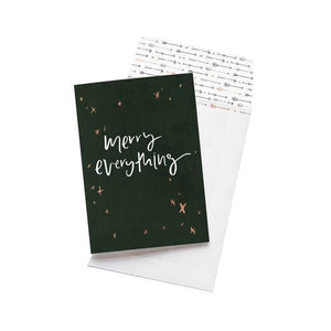 Greeting Card - Merry Everything