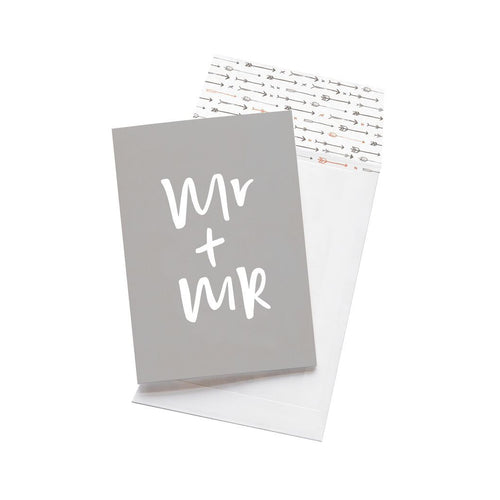 Greeting Card - Mr + Mr