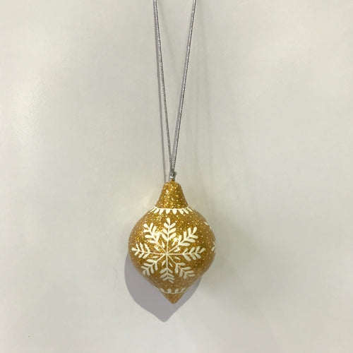 Glitter Gold - Bauble
