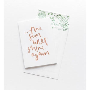 Greeting Card - Shine Again