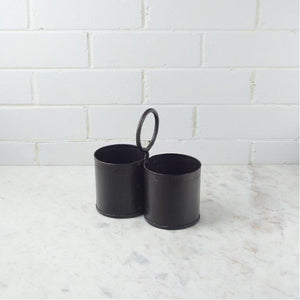 Double Iron Cutlery Caddy - CRAVE WARES