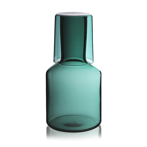 J'ai Soif - Teal Carafe & Glass - CRAVE WARES