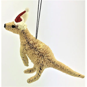 Kangaroo White - Christmas Decoration - CRAVE WARES