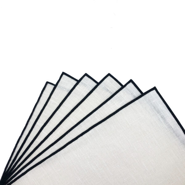 Avignon Washable Placemat - White