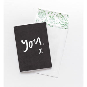 Greeting Card - You