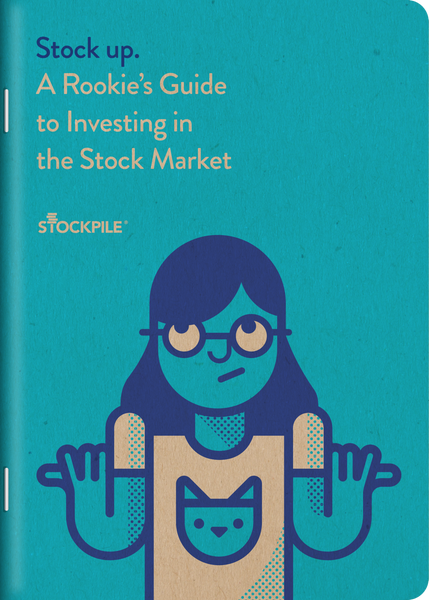 FREE WITH $50+ PURCHASE!  Rookie's Guide to Investing - $7.95 value