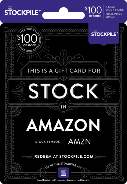 Gift Card For Amazon Stock Stockpile Gifts