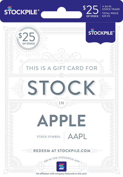 25 Gift Cards For Stock Stockpile Gifts
