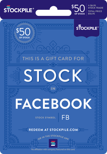 Gift Card for Facebook Stock