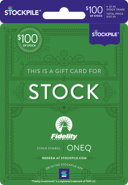 Gift Card for Fidelity Nasdaq ETF