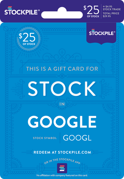 Gift Card for Google Stock