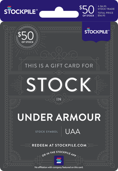 40b604ea2e Gift Card for Under Armour Stock – Stockpile Gifts