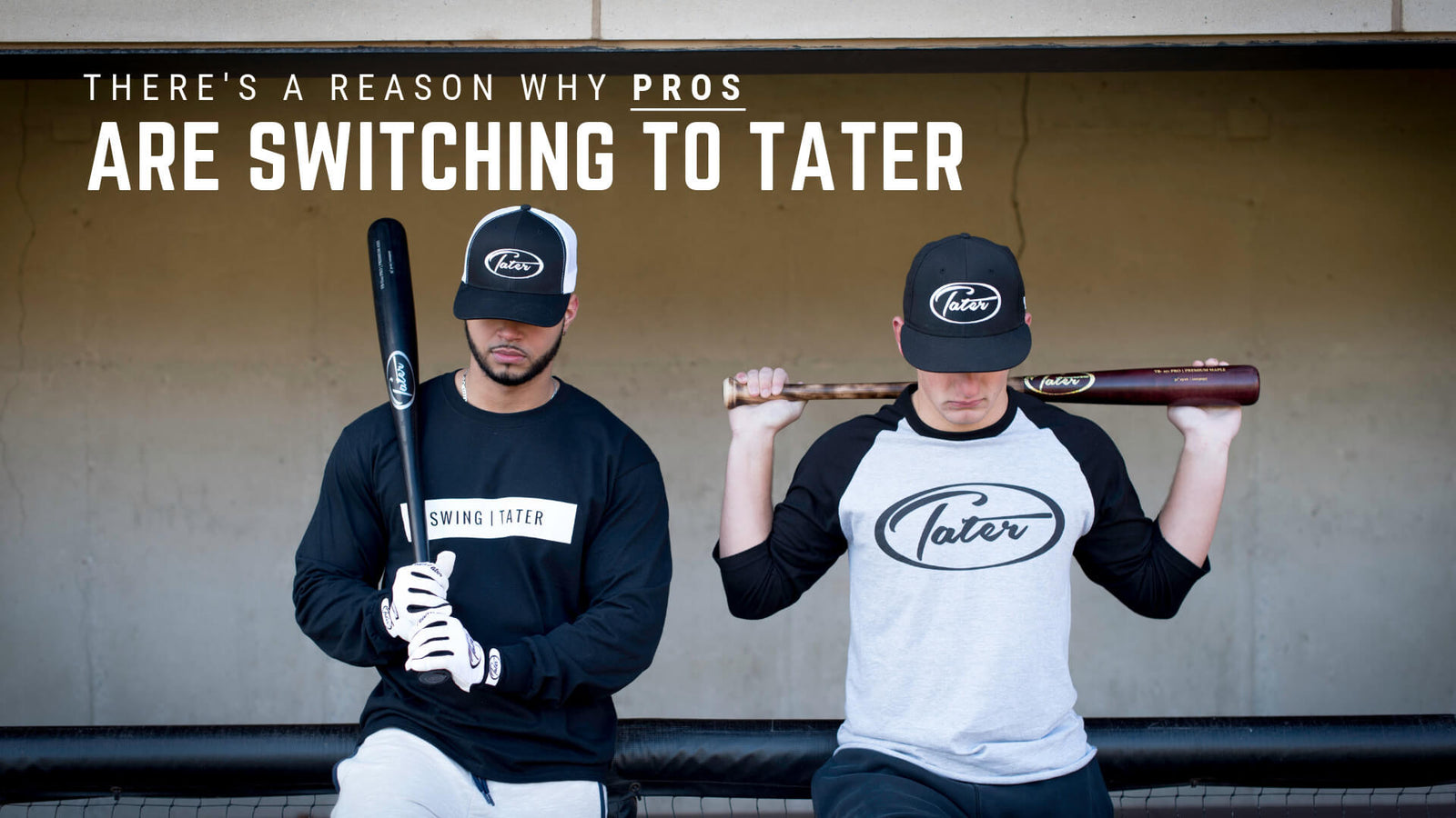 This is our story - Tater Bats - Professional Wood Baseball Bats