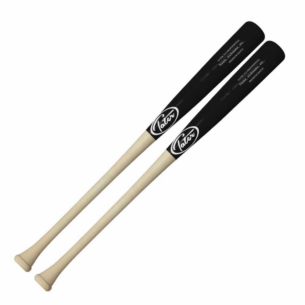 Maple wood bat pack deals manufactured by Tater Baseball