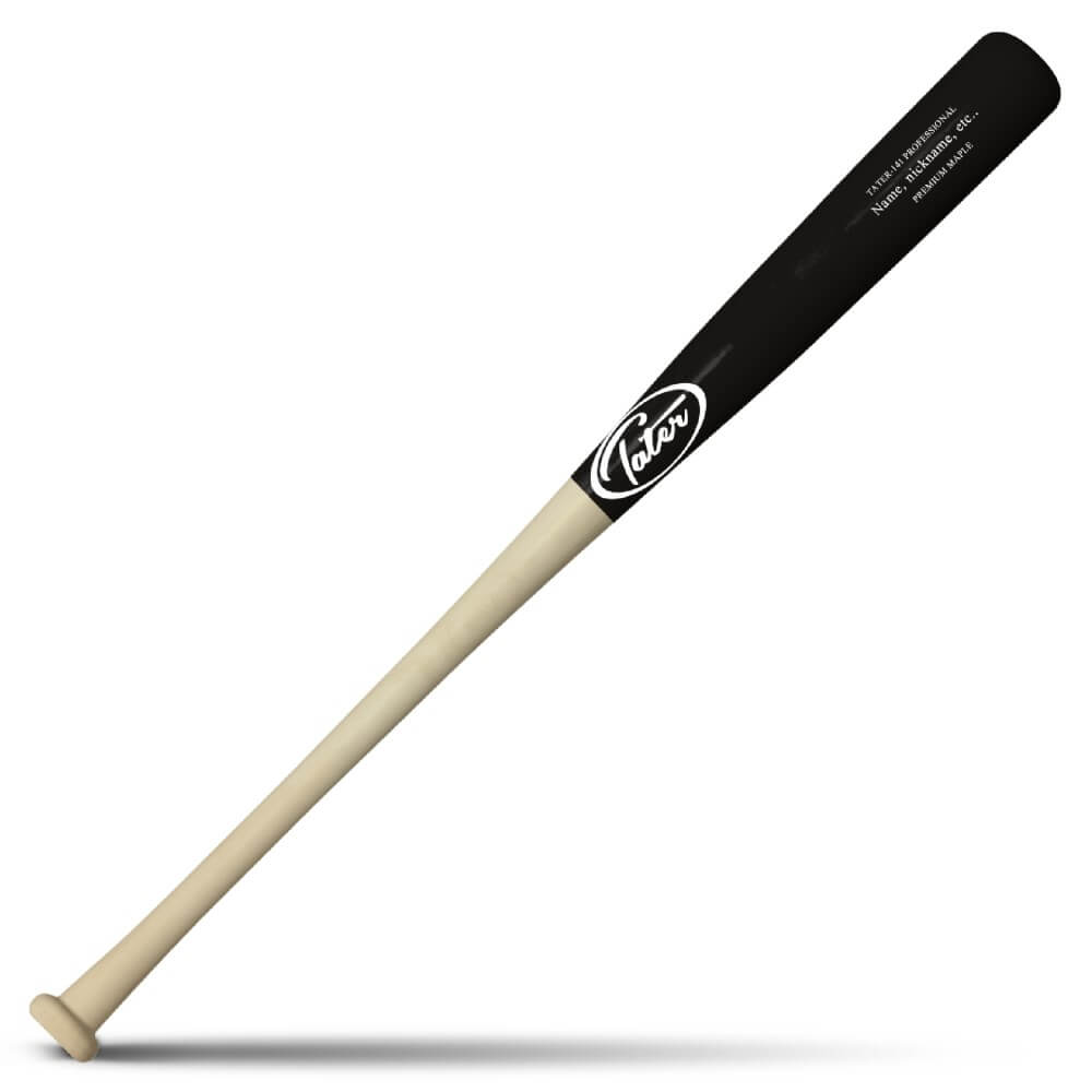 Maple CB15 Custom Wood Bat made for End-Loaded Feel Manufactured by Tater Bats
