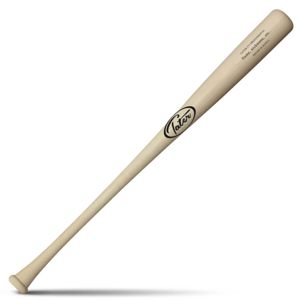 Youth wood baseball bat with the best balance for little league