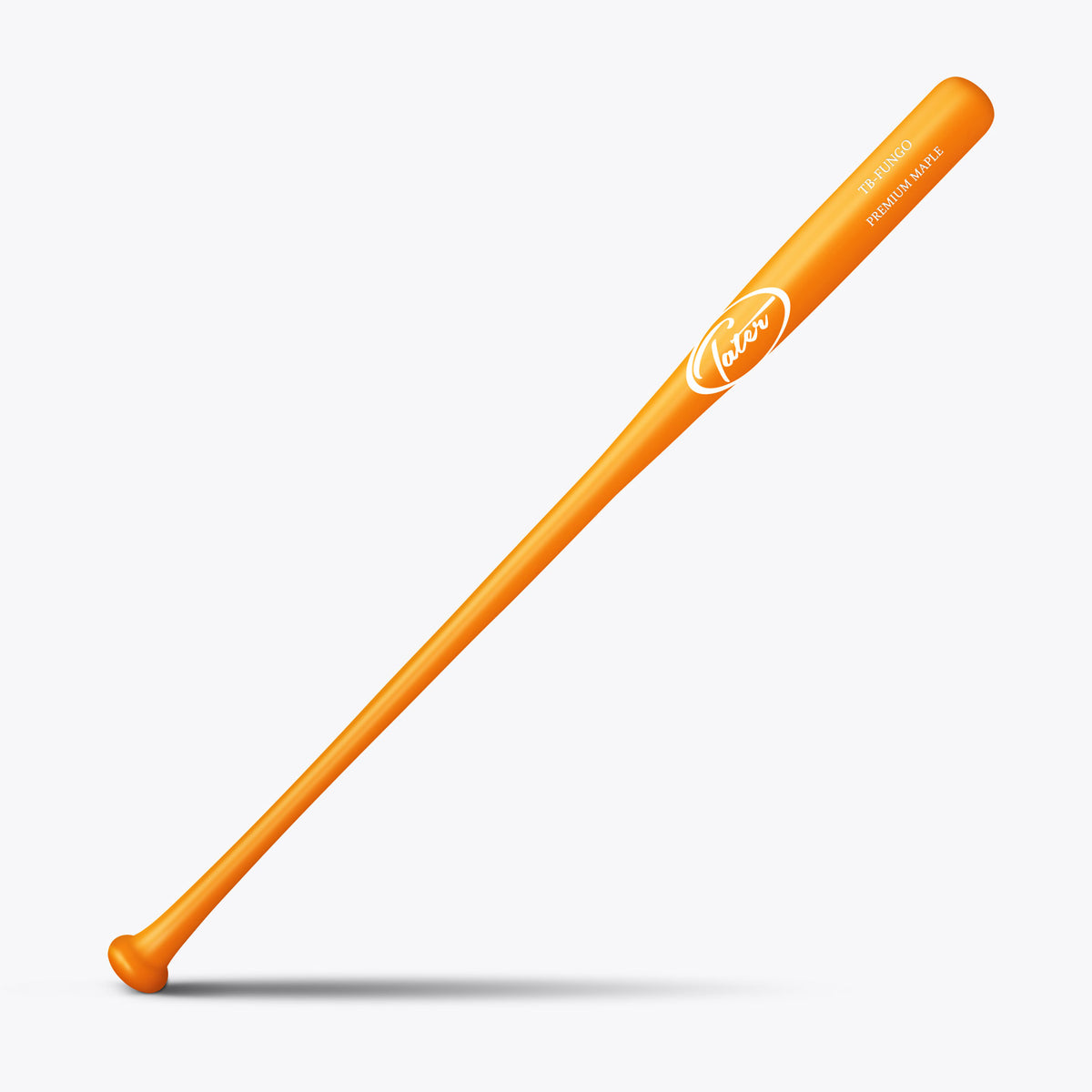 Premium Finish Maple Fungo (Thin Barrel) - Tater Bats - Professional Wood Baseball Bats