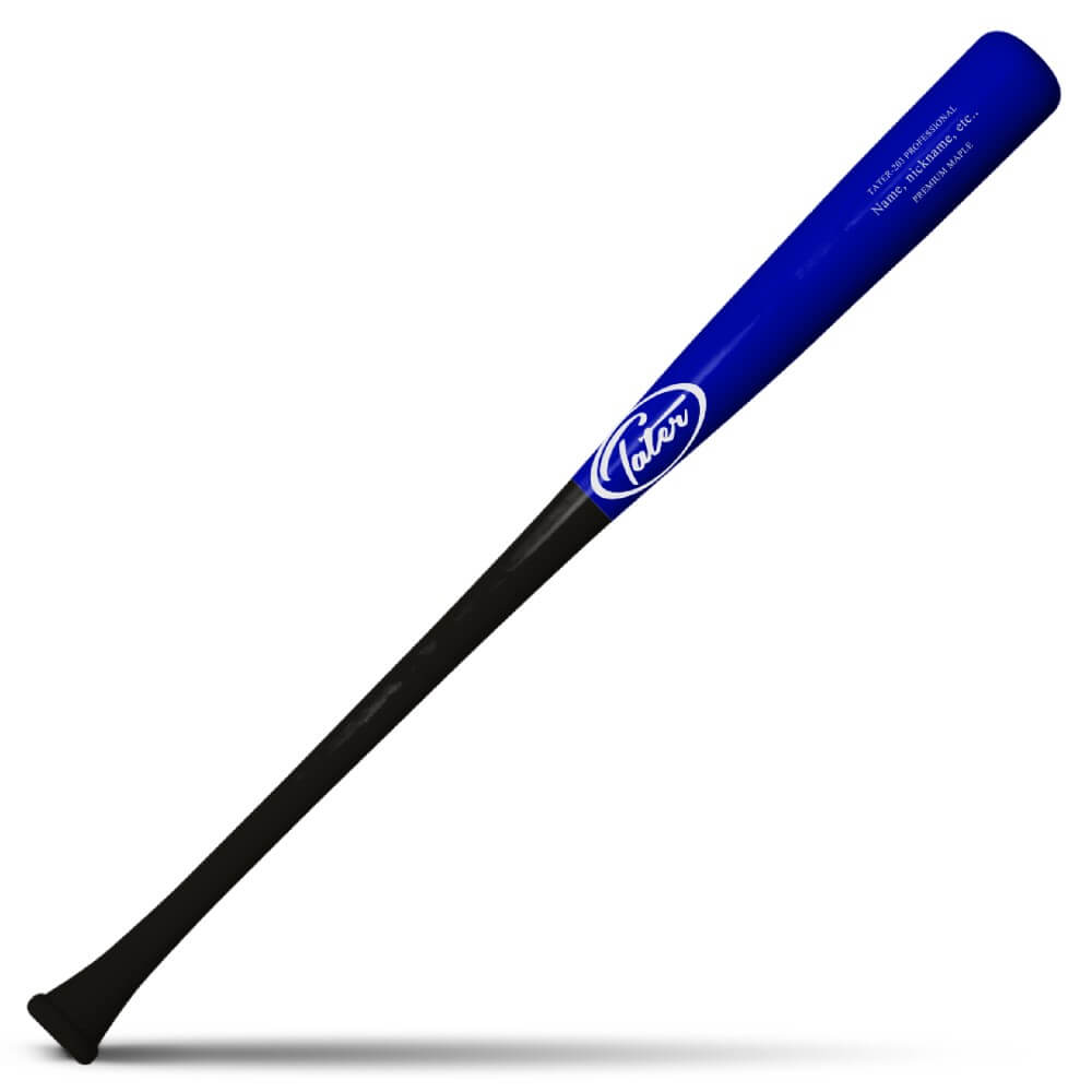 Tater-203 Model Balanced Maple Wood Baseball Bat Model