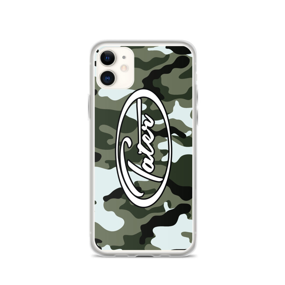Tater Camo iPhone Case - Tater Bats - Professional Wood Baseball Bats