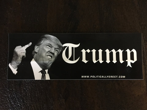 TRUMP-FUCK YOU BUMPER STICKER