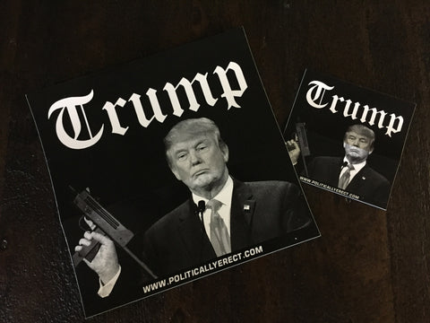 TRUMP MAC11-STICKER