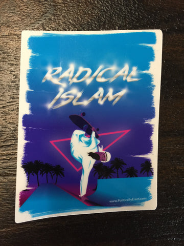 Radical Islam Sticker 4.5 Inch