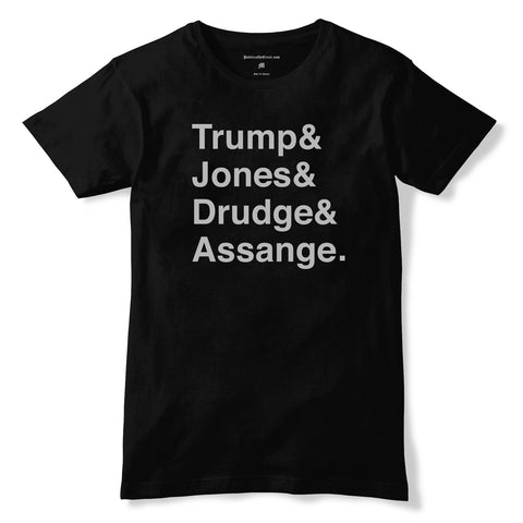 Trump & Jones & Drudge & Assange.