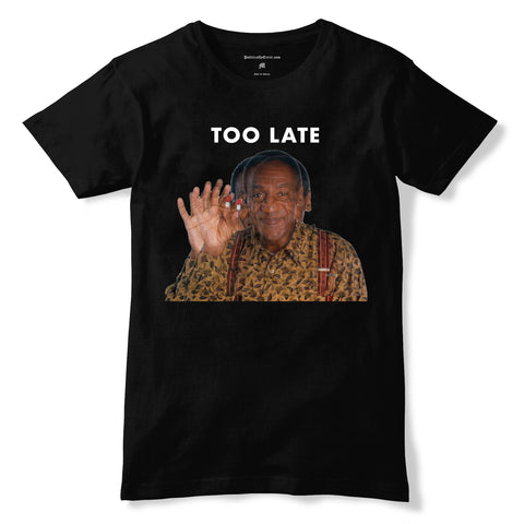 COSBY TOO LATE MENS TEE
