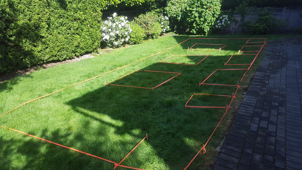 Self-Watering elevated deck, patio, and backyard garden. Cedar raised beds, container gardens, and veggie/vegetable gardens featuring GardenWell sub-irrigation to create wicking beds for growing your own food.
