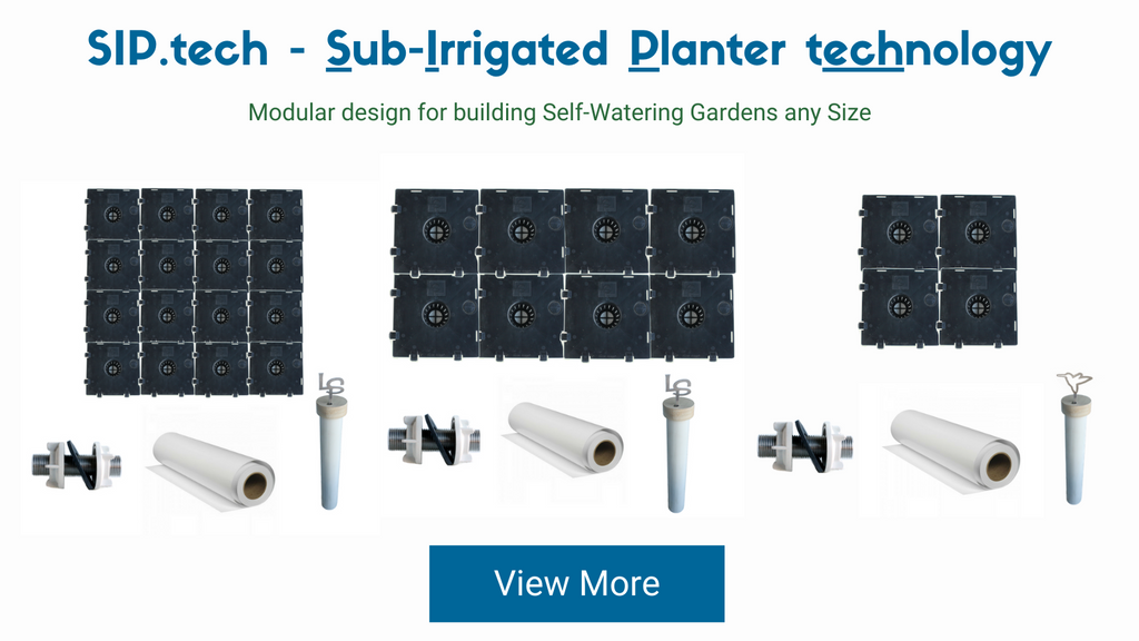 Sub-irrigated planter system
