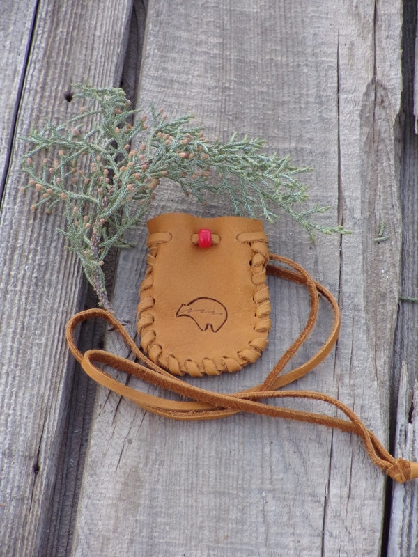 Bear medicine totem pouches