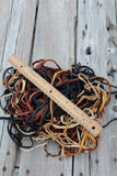 Leather laces , craft laces, leather cord, leather craft supplies E126