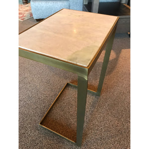 Marble top C table