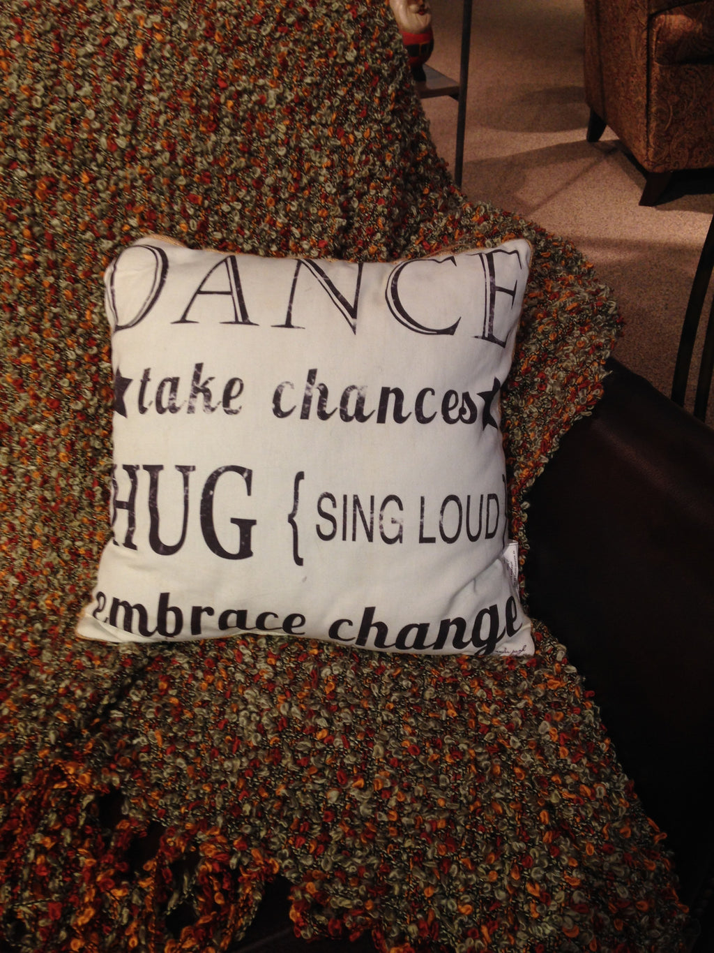 Dance pillow