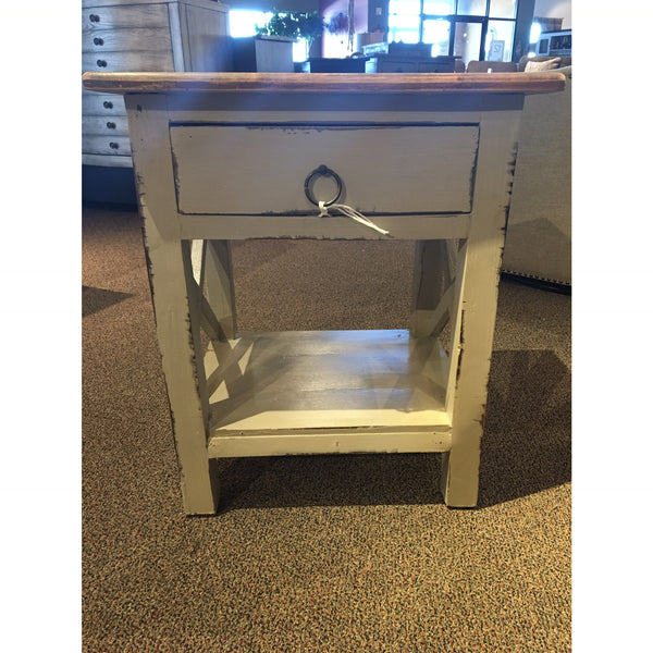 Cobblestone End Table