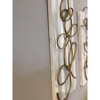 Canvas & Metal Wall Decor A