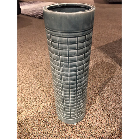 Large Blue-Grey Vase