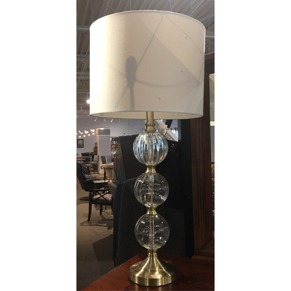 Three Globe Table Lamp
