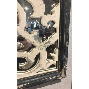 Black Framed Decorative Mirror Set