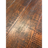 "Distressed 60"" Round Dining Table"