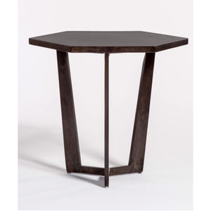 Hexagon End Table