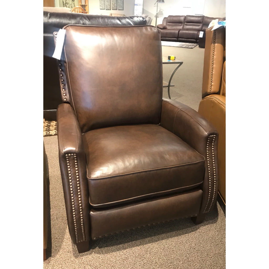 High Leg Leather Recliner