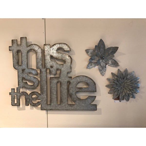 This is Life Wall Decor